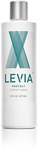 LEVIA Natural Anti-Lice Conditioner, 12oz - REPELS UP TO 100% OF LICE! Infused with Tea Tree, Rosemary, Neem, Aloe, Argan, Myrrh & Bilberry. Creates natural lice barrier around your head. - Permethrin Head Lice