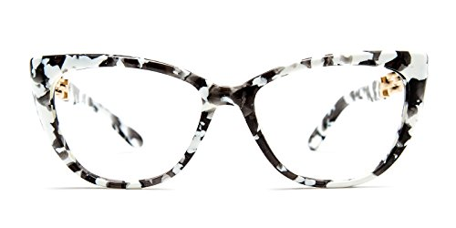 TIJN Cat Eye Acetate Optical Frame Eyeglasses Designer Glasses for - Optical Frames Designer