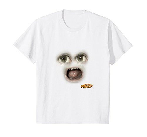 (Kids Annoying Orange Halloween Costume Marshmallow T-Shirt 4)