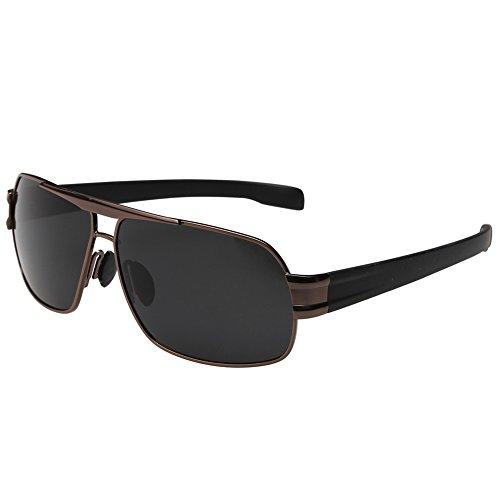 Joopin-Polarized Sunglasses Men Polaroid Driving Sun Glasses Mens Sunglass (Brown - Discount Sunglasses Polarized