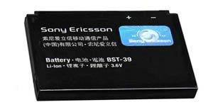 Sony Ericsson Cell Phone Battery BST-39