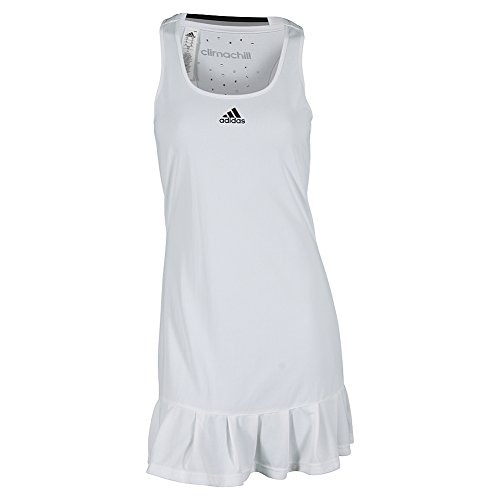 adidas Performance Women's Climachill Dress, White, Small