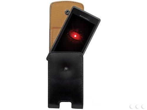 Cellet Black Vertical Noble Case for Motorola DROID