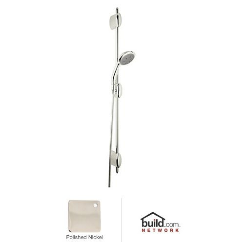 UPC 826712004330, Rohl D96001PN Ocean4 Hand Shower with Slide Bar and Hose, Polished Nickel