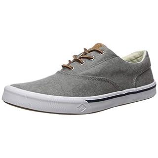Sperry Men's Striper II Cvo Sneaker, Grey, 9