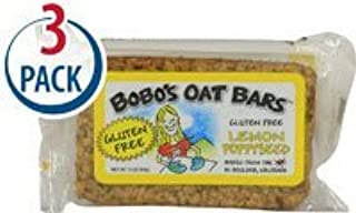 product image for BoBo's Oat Bars Lemon Poppyseed Gluten Free -- 3 oz Each / Pack of 3