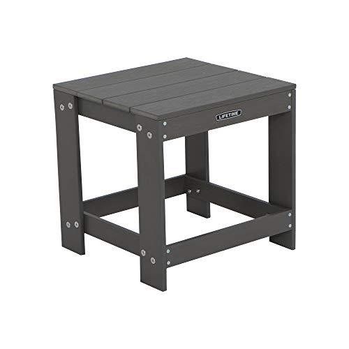 Quik Fold Side Table - Lifetime 60292 Adirondack Table, Gray