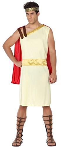 Mens Roman Gladiator Centurion Toga Carnival Fancy Dress Costume Outfit M/L]()