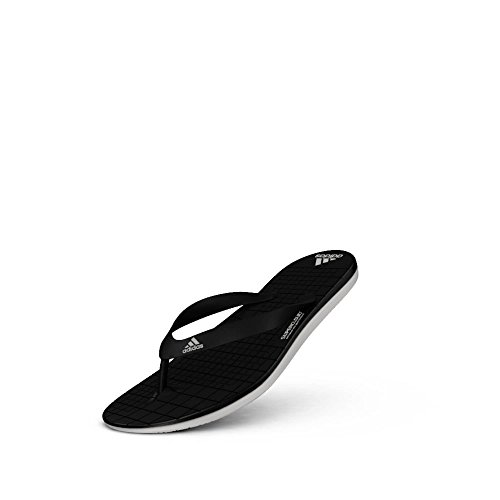 adidas Herren Eezay Cf Pantoletten, Schwarz / Weiß (Negbas / Ftwbla / Negbas) CBLACK/FTWWHT/CBLACK