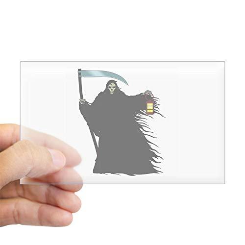 CafePress Death Rectangle Sticker Rectangle Bumper Sticker Car Decal -