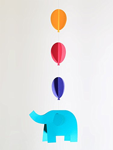 [Pepamo] paper Mobile kit cute paper craft elephant