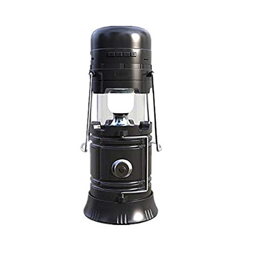 Price comparison product image FuriGer Outdoor Light Bluetooth Speaker,  Music Camping Lantern Portable Bluetooth Speaker LED Flashlight Rechargeable Solar Powered Led Speaker for Outdoor Activity