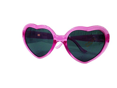 Uv400 Polarizado sol Lolita de Corazón Gafas Fucsia Style Mujer Bw6xq