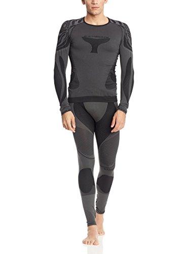 Expedus Herren Ski Unterwäsche Funktionswäsche Shirt graphit/schwarz