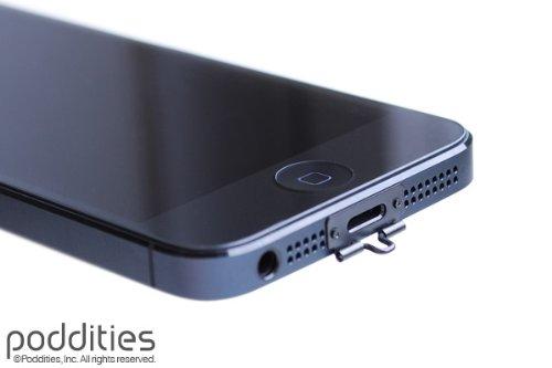 quality design 4b178 f994f Amazon.com: iphone5 Strap|poddities - iPhone Strap NETSUKE Black ...