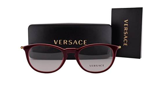 Versace VE3227 Eyeglasses 51-20-140 Red 5188 VE - Versace Sale Eyeglasses