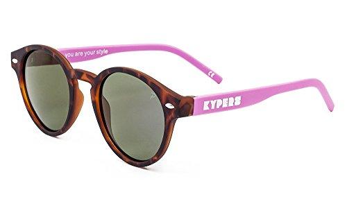 Mirror Manhattan Matte de 49 Unisex Havanna Sol Purple KYPERS Gafas Fqwd8BB