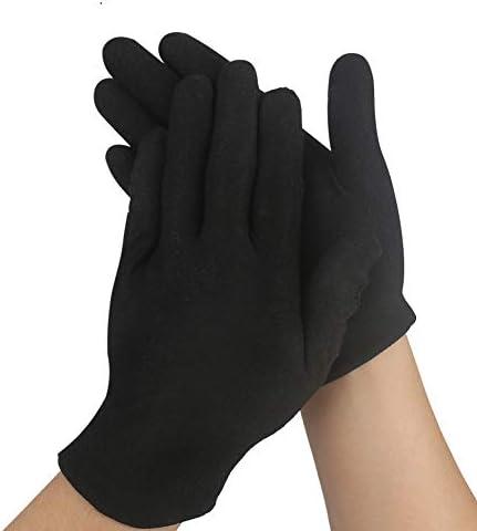 FEALING Guantes de algodón, 12 pares de guantes de algodón blanco ...