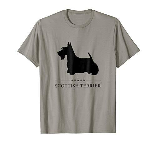 Scottish Terrier Shirt: Black ()