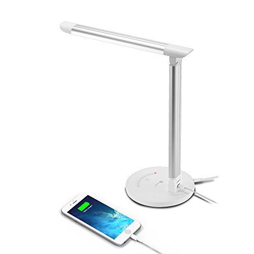 TaoTronics LED Desk Lamp Eye-caring Table Lamp,...