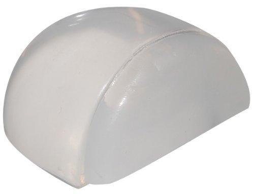 15502811 Non Lascia residui Trasparente Autoadesivo Diametro 40 x 43 x 23 mm fermaporta a Pavimento Clear Wagner in plastica