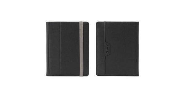 Small-Medium44; Black-Silver Grf GB37541 Passport Folio Case for E-Readers