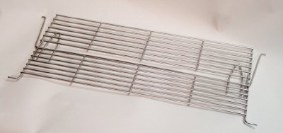 - Broilmaster Stainless Steel Warming Rack (Retract-a-Rack, Fold Out)