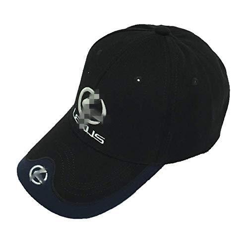 Jhaze Car Logo Black Baseball Cap F1 Racing Hat (for Lexus)