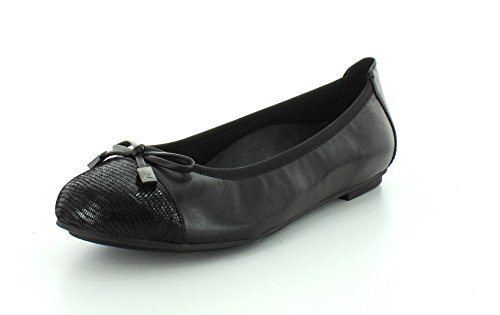 Leather Shoes Womens 359 Negro Minna Vionic qwOyfct6t