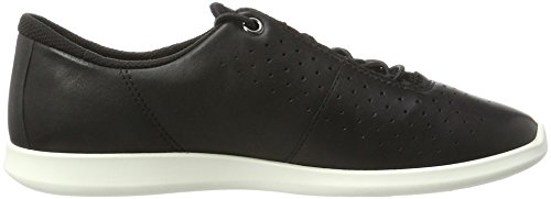 Ecco Damen Sense Sneaker Schwarz (50481 Nero / Nero / Nero-bianco / Bianco)