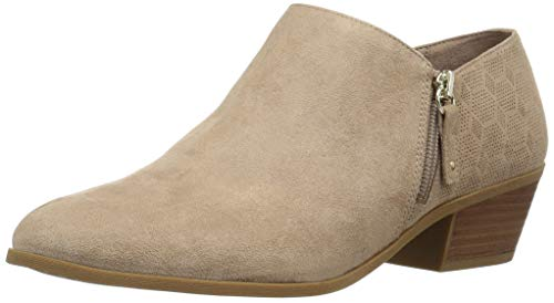Dr. Scholl's Women's Brief Ankle Boot, Putty Microfiber P