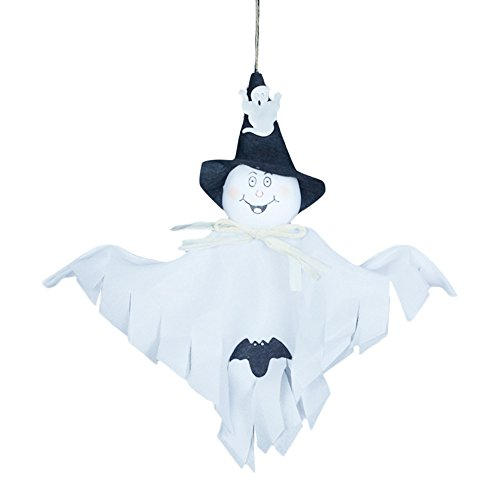 ASeir Halloween Decoration Random Color Cute Ghost Festival Party Supplies Kids Funny Joking Toys 2PC (Ghost Town Halloween Party)