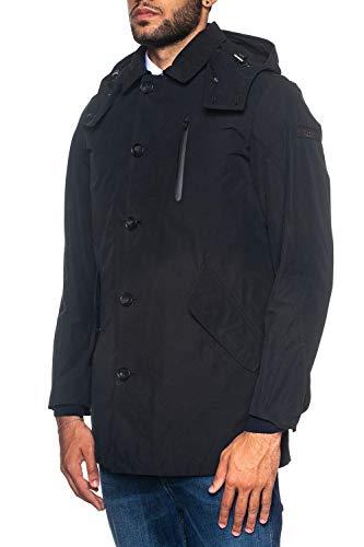 Coat Da Stag Woolrich Nero Giaccone Uomo 6EvvFw8q