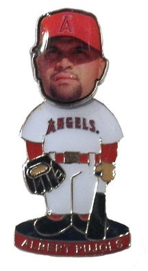 Albert Pujols Los Angeles Angels Bobble Head Pin - NEW