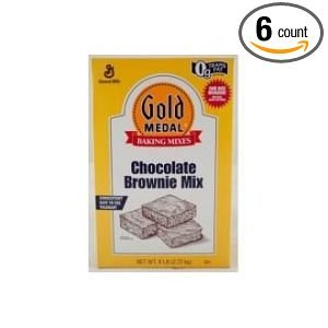 Gold Medal Chocolate Brownie Mix 6 Case 6 Pound