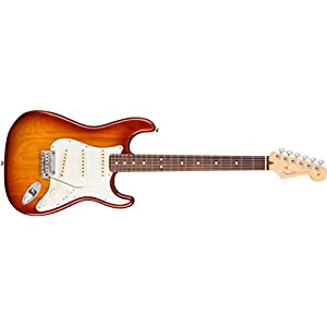 American Professional Stratocaster Ash RW Sienna Sunburst