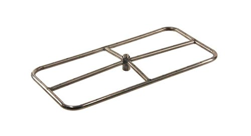 Hearth Products Controls (HPC Rectangle Stainless Steel Fire Pit Burner (FRSR-36X18-NG), 36X18-Inch, Natural -