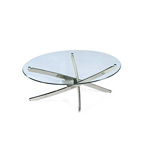 Magnussen T2050 Zila Oval Cocktail Table ()