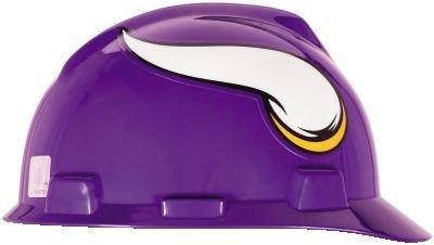 Vikings Glove Minnesota (NFL Hard Hat, Minnesota Vikings, Pur/Wht)