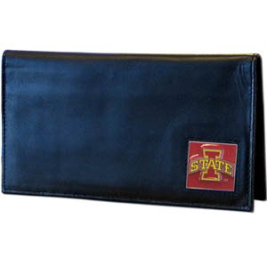 (College Executive Checkbook Cover Boxed- Iowa St. Cyclones)
