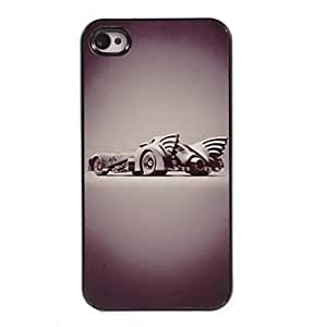GOG- He War Wagon Design Aluminum Hard Case for iPhone 4/4S