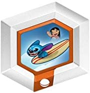 Disney Infinity Series 2 Power Disc Hangin' Ten Stitch with Surfboard [10 of 20] by Disney Infinity