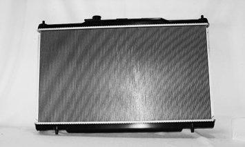 TYC 13015 For HONDA Element 1-Row Plastic Aluminum Replacement Radiator