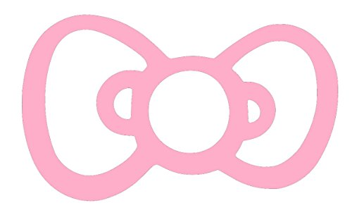 hello kitty bow car decal - 5