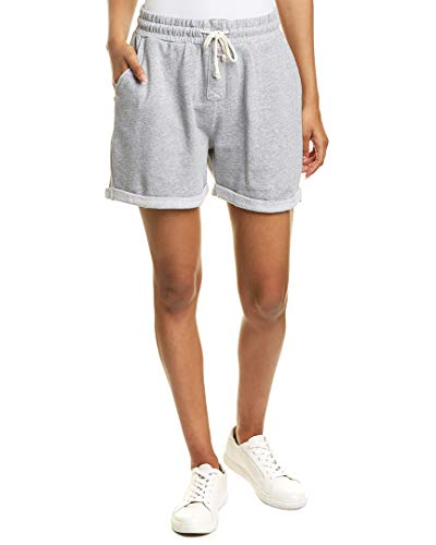 Threads 4 Thought Threads for Thought Womens Elsie French Terry Short, M, Grey