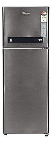 Whirlpool Frost-free Double-door Refrigerator (265 Ltrs, 3 Star Rating, Infinia Steel)
