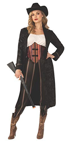 Wild West Woman Costume (Rubie's Women's Opus Collection Wild West Adult Cowgirl Costume, As Shown,)