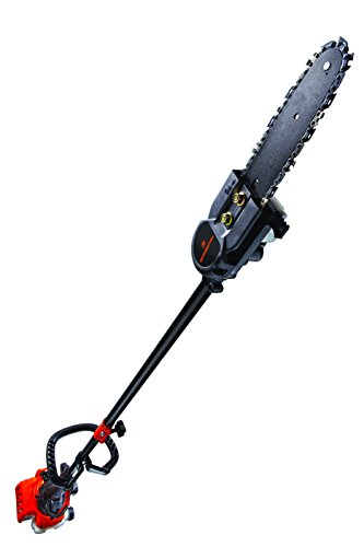 (Remington RM25PS Maverick 25cc 2-Cycle Gas Pole Saw with 7 Foot Extension Pole for Tree Trimming and Pruning)