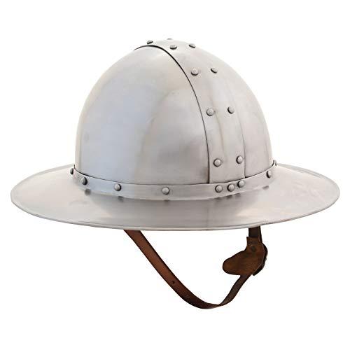 Ectoria EC01-060 European,English Kettle Hat Helmet (LARP/Roman/Costume -