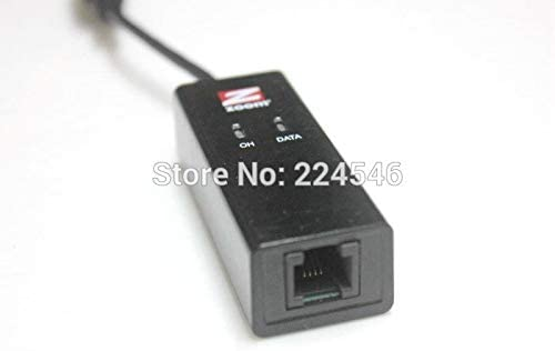 Cable Length Black ShineBear Used Item for Zoom 56K Model 3095 V.92 USB Mini External Modem Adapter